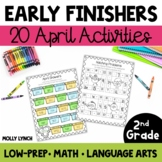 Early Finishers for 2nd Grade - April