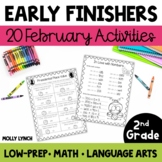 Early Finishers for 2nd Grade - February