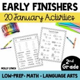 Early Finishers for 2nd Grade - January