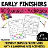 Early Finishers for 2nd Grade - Summer!