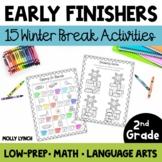Early Finishers for 2nd Grade - Winter Break!