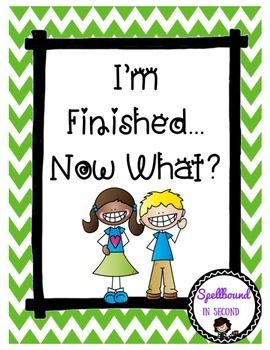 Early Finishers for Grades 1-3