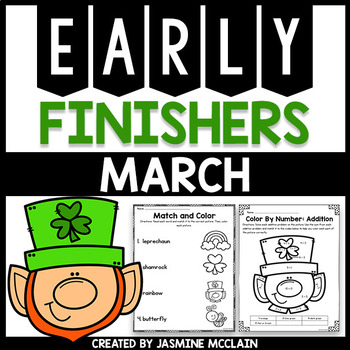 Early Finishers for March