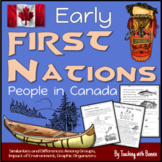 First Nations Early Canada: Indigenous People 6 People Gro