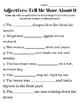 Early Grammar Set, Grammar Worksheets, Pre Grammar, Parts of Speech
