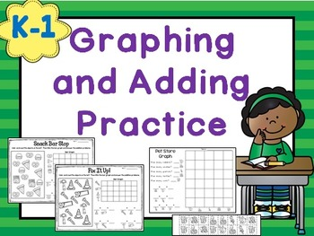 Early Graphing and Addition Practice K-1