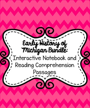 Early History of Michigan Bundle