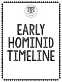 Early Hominids Timeline- Group Project