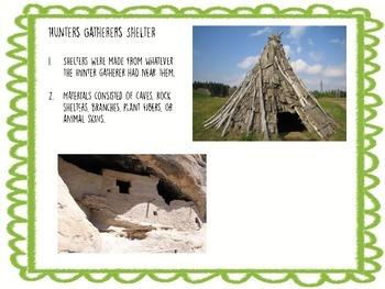 Early Human Hunter Gatherer Activity
