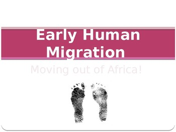 Early Human Migration