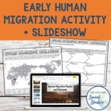 Early Human Migration Activity and Editable Google Slideshow