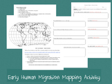 Early Human Migration - Mapping Activity