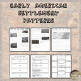 Early Human Settlement Patterns & Mapping Questions