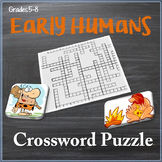 Early Humans Crossword Puzzle