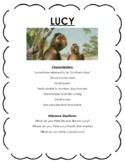 Early Human Characteristics & Inference Activity