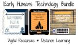 Early Humans Tech Bundle: Breakout, Google Slides, Google Site, & Hyperdoc