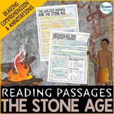 Early Humans | The Stone Age Reading Passages | Archaeology
