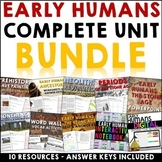 Early Humans and the Stone Age Complete Unit Curriculum Bundle