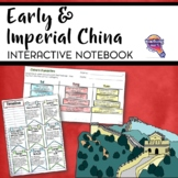 Early & Imperial China Interactive Notebook Unit 6th Grade INB Mongols
