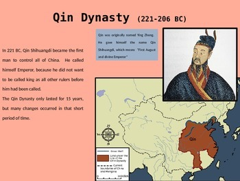 Early Imperial China Power Point Presentation for Upper Elementary