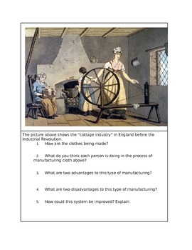 Early Industrial Revolution in America, the Cotton gin, and slavery