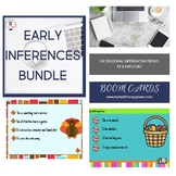 Early Inferences Bundle (BoomCards/Distance Learning)