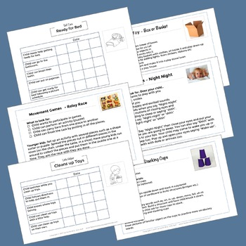 Early Intervention Activity Packets December