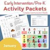 Early Intervention Activity Packets January