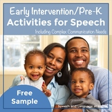 Early Intervention Activity Packets November Free