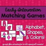 Early Intervention Centers { Alphabet, Shapes, and Colors }