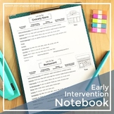 Early Intervention Notebook - Information, Worksheets and Handouts for Parents