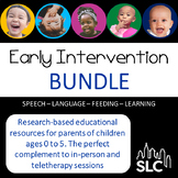 Early Intervention --- Parent Education  BUNDLE |  Distanc