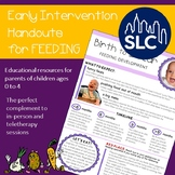 Early Intervention Parent Handout for Feeding --- Birth to 4