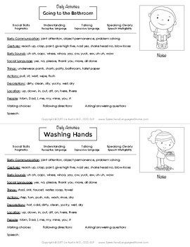 Early Intervention Parent Handouts