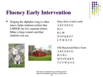 Early Intervention Powerpoint