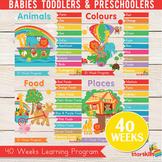 Starskills 40 Weeks for Babies, Toddlers & Preschoolers