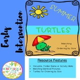 Early Intervention Summer Turtles