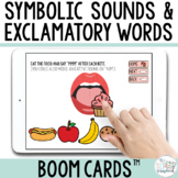 Early Intervention Symbolic Sounds Boom Cards™- Speech The