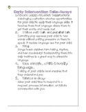 Early Intervention Take-Aways Handout