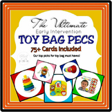 Early Intervention Toy Bag PECS Cards