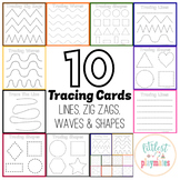 Early Intervention: Tracing Lines, Zig Zags, Waves & Shapes