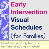 Early Intervention Visual Schedules