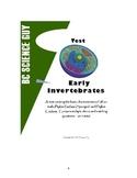 Early Invertebrate Test - Porifera & Cnidaria