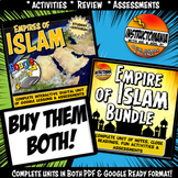 Early Islam Complete Unit & Google Ready Combined Activity History Bundle