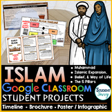 Early Islam Google Classroom Projects
