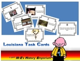 Early LOUISIANA   32 Task Cards & Answer Sheet