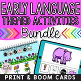 Early Language Activities BUNDLE!