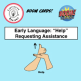 "Early Language Boom Cards: ""Help"" (Requesting Assistance)"