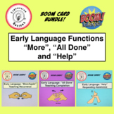 Early Language Functions Boom Cards Bundle