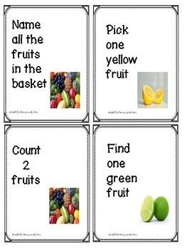 Early Language Learning Unit FOOD SAMPLER